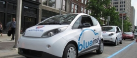 French Company Bollore Building EV Ride-Share System In U.S.