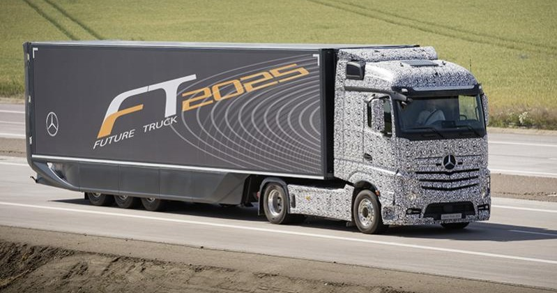 Mercedes Introduces Future Truck 2025 Concept